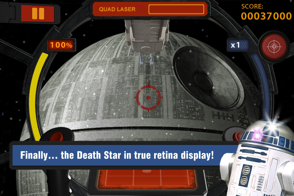 Screenshot Star Wars Arcade: Falcon Gunner Review